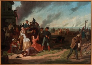 "In ""General Order No. 11,"" George Caleb Bingham uses symbolism to convey his view on the infamous 1863 order that upended the lives of many western Missourians. Courtesy of the State Historical Society of Missouri."