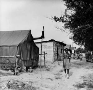 Sharecroppers cottage built by the Federal Gov