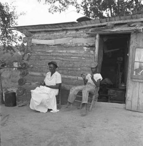 Sharecroppers hut