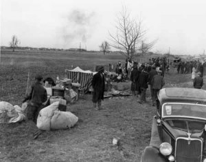 Sharecroppers on the Roadside