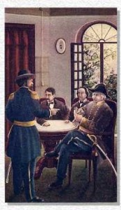 The meeting at the Planter's House Hotel, 1861